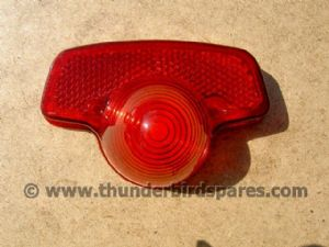 Rear Light Lens, Replica Lucas 679, Triumph, BSA etc 1967-73